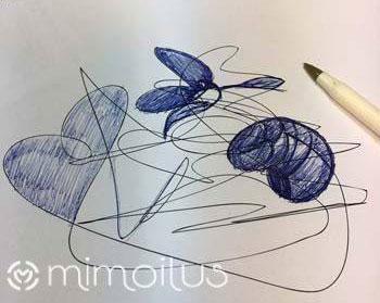 Garabato creativo mimoilus
