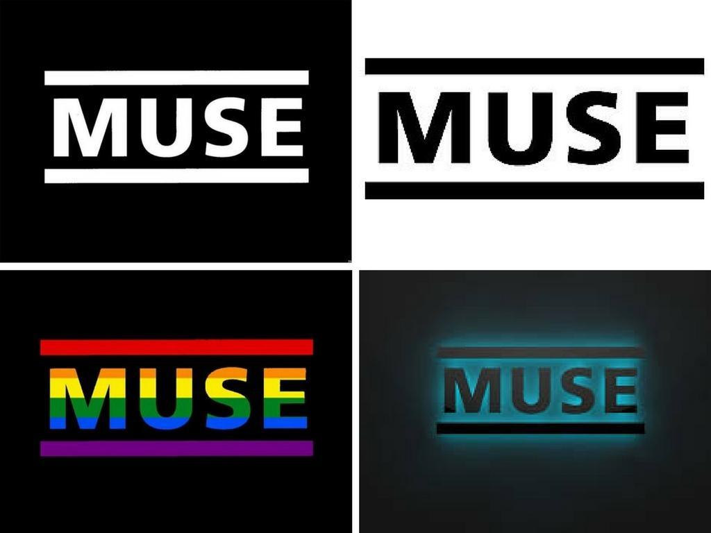 Ejemplo diseño logotipo Muse