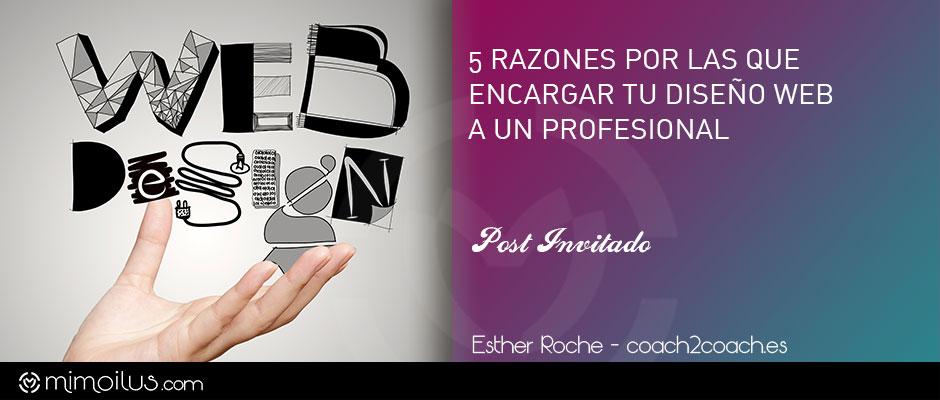 5 razones por las que encargar el diseño web a un profesional