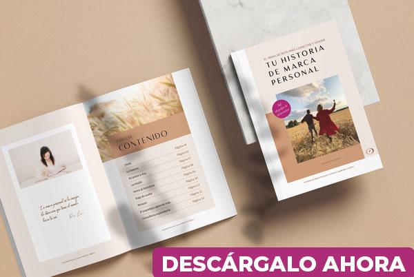 Ebook gratuito Tu historia de marca que conecta y vende de Rosa León - descargable